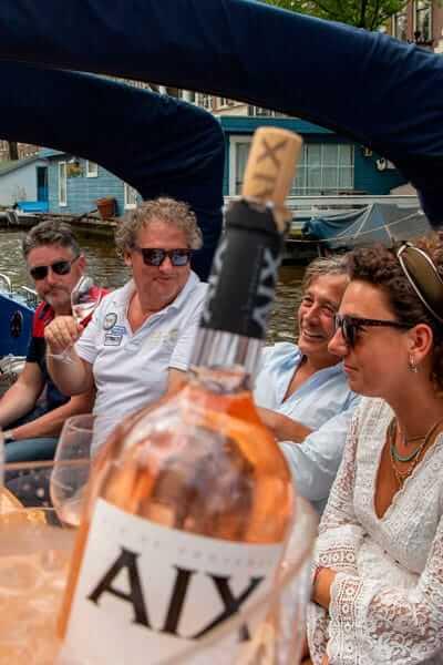 AIX Rosé Boot met AIX fles