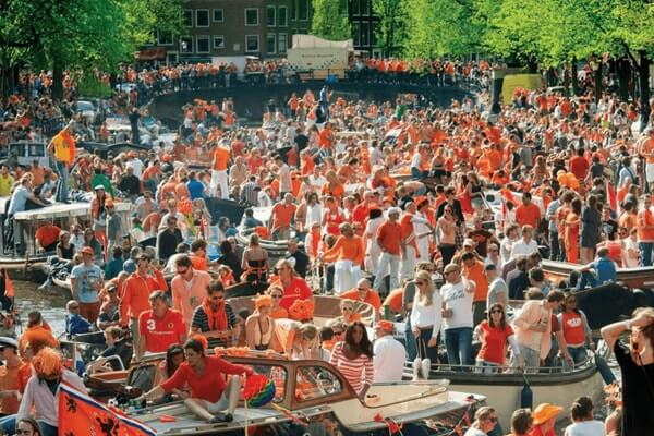 Kings Day 2020 Amsterdam